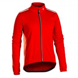 Veste thermique bontrager starvos s1 softshell rouge s