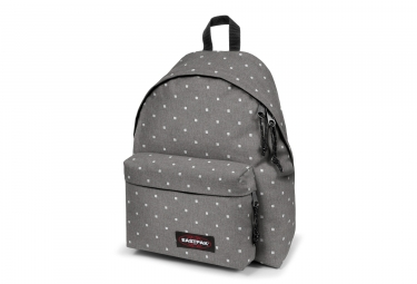 sac a dos eastpak padded pak r authentic gris carre blanc