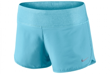 short femme nike rival 7 5cm bleu s