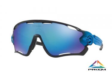 paire de lunettes oakley jawbreaker sapphire fade prizm sapphire polarized ref oo9290 22