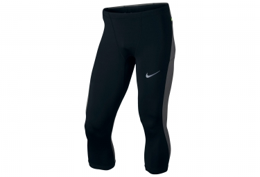 Collant 3 4 homme nike power noir gris s