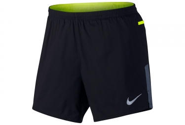 Nike Running Short Black Yellow