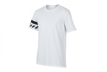 t shirt oakley tri hazard blanc s