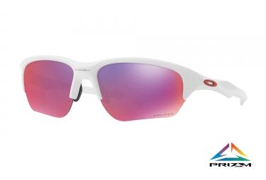 oakley paire de lunettes flak beta matte white prizm road ref oo9363 05