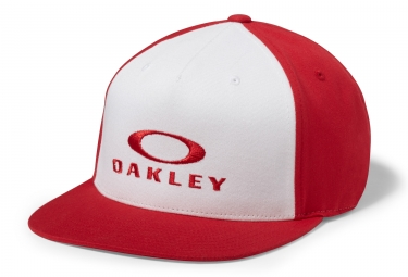 Oakley Sliver 110 Flexfit Cap Red White