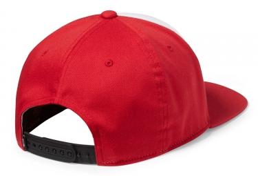 casquette flexfit oakley sliver 110 rouge blanc