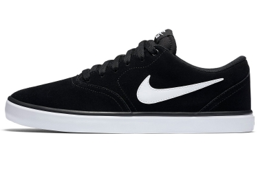 chaussures nike sb check solarsoft noir blanc 41