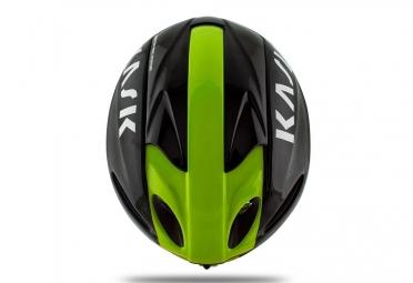 casque kask infinity noir vert m 48 58 cm