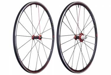 paire de roues fulcrum racing zero competition a pneu corps shimano sram