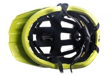 casque vtt kask 2017 rex vert jaune l 59 62 cm