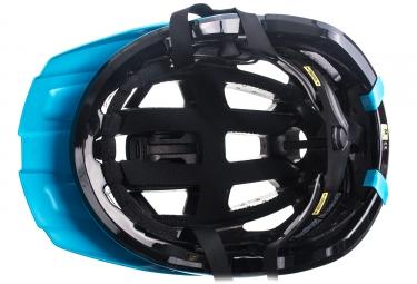 casque vtt kask rex bleu noir l 59 62 cm