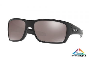 Paire de lunettes oakley turbine polished black prizm black polarized ref oo9263 41