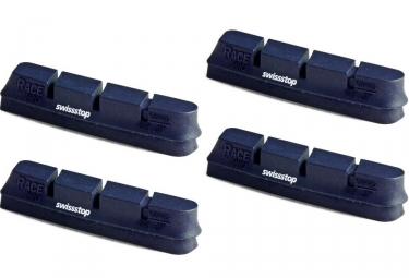 X4 cartouches de patins de freins swisstop race pro bxp jante alu campagnolo