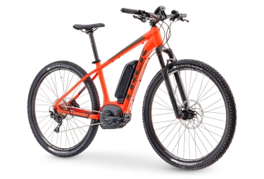 vtt electrique trek powerfly 7 29 orange 2017 15 5 pouces 153 162 cm