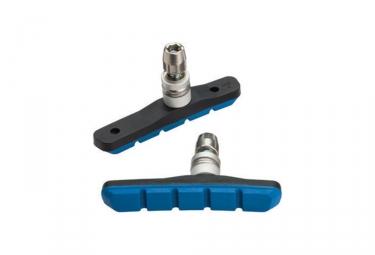 x2 Patins de Freins Jagwire COMP MOUNTAIN XC Bleu toutes conditions