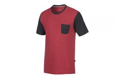 t shirt oakley 50 50 solid pocket rouge noir xl