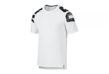 t shirt technique oakley zone wave blanc s