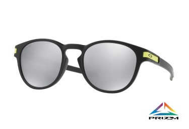 Paire de Lunettes OAKLEY LATCH Matte Black / Chrome Iridium Ref: OO9265-21