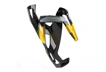 Porte bidon elite custom race plus noir jaune
