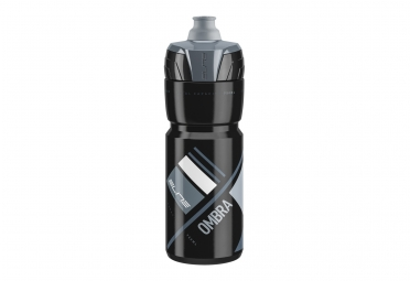 Bidon elite ombra 750ml black grey