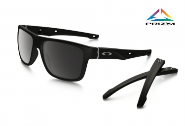 OAKLEY Sunglasses Crossrange Matte Black/Prizm Black Polarized Ref OO9361-0657