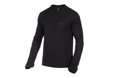 maillot manches longues oakley warm zone noir xl