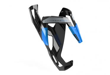 Porte bidon elite custom race plus noir bleu