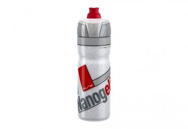 Bidon Elite Thermo Nanogelite 550ml Gris Rouge