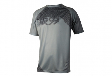 maillot manches courtes royal matrix gris m