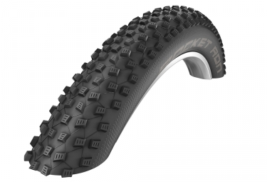 Pneu schwalbe rocket ron 27 5 plus tubeless ready souple snakeskin pacestar noir 2 60