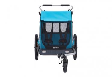 Remorque à Enfant Thule Coaster XT Bleu