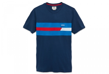 t shirt vans ninety three bleu s