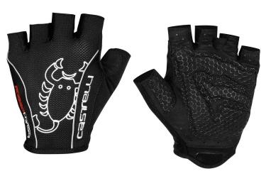 castelli gants rosso corsa classic noir m