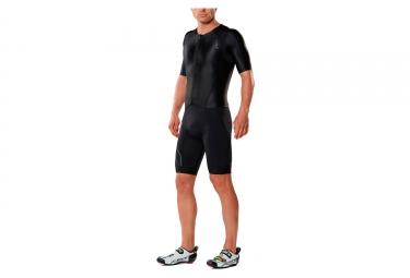 2XU Compression Short Sleeves Trisuit Black