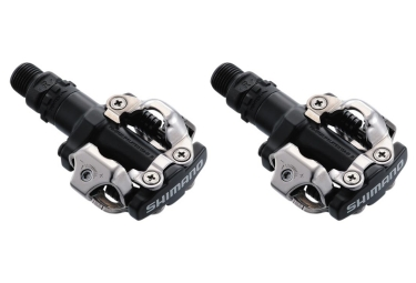 Shimano M520 Clipless SPD MTB Pedals Black