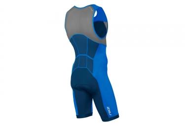 Combinaison Trifonction 2XU Active Bleu
