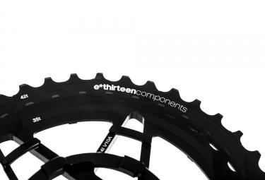 E-THIRTEEN TRS + Kettenräder Kit 36 ??- 42T 10s Schwarz