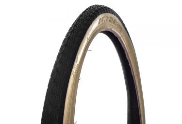 pneu de route hutchinson junior 14 x 1 3 8 tringle rigide noir beige