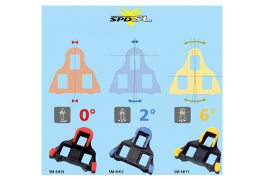 Shimano SH10 SPD-SL Cleats