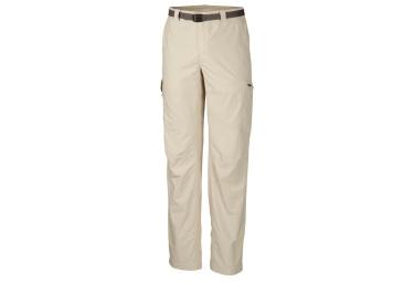 pantalon columbia silver ridge beige 36