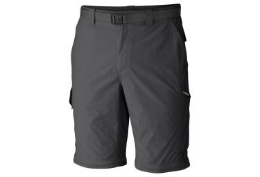 Pantalon Convertible Columbia Silver Ridge Gris