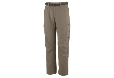 Pantalon Columbia Silver Ridge Gris Marron