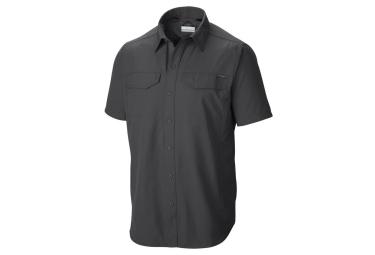 chemise manches courtes columbia silver ridge gris m