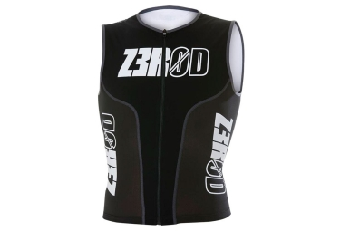 Z3rod iSinglet Triathlon Top Black White