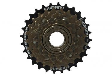 shimano roue libre a visser mf tz21 14 28 dents 7v