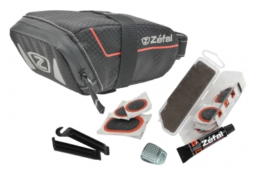 Sacoche de Selle Zefal Z Light Pack S Noir + Kit de Réparation Universel