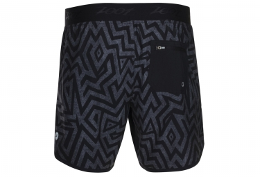 Short 2-en-1 ZOOT BOARD 7´´ Running Surf Noir Gris