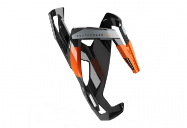 ELITE Custom Race Plus Bottle Cage Black Orange