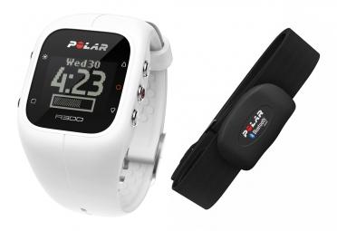 Polar montre a300 frequence cardiaque blanc
