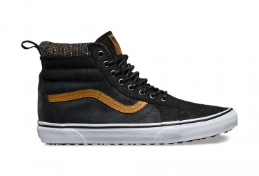 Chaussures vans sk8 hi noir marron mte 40